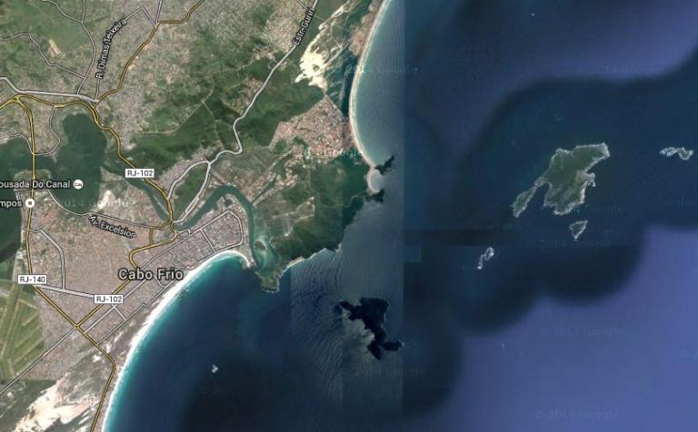 Übersicht Cabo Frio